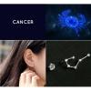 Zodiac Stud Earring Set - Cancer