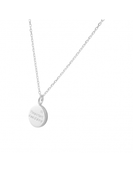 You Are My Sunshine Ketting - zilver
