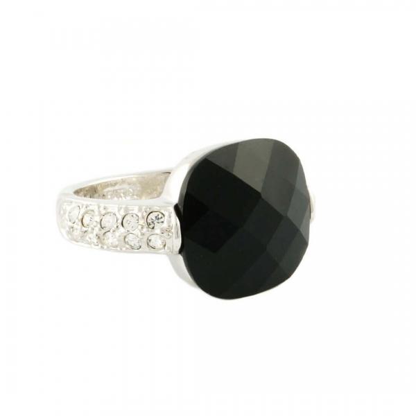 Kussen Zwarte Ring