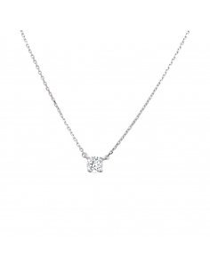 Kristal Element Sterling Zilver Ketting