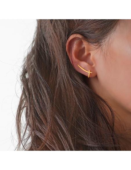 Zwaard oorbellen