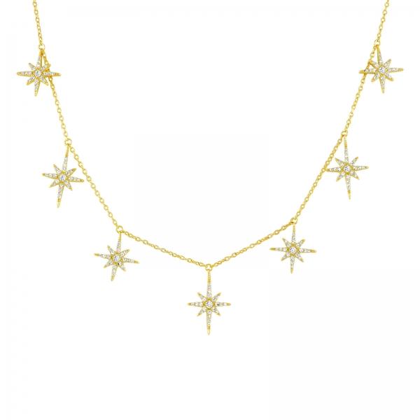 18K gold vermeil Stardust Choker