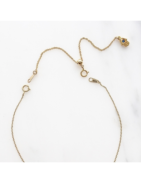 Slidable Necklace Extension Chain