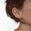 Sterling Silver Star Ear Cuff