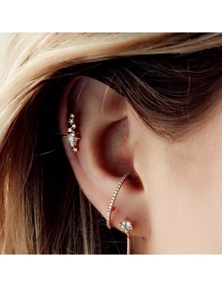 Hemelse sterretjes ear cuff