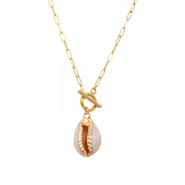 Puka Shell Pendant Necklace