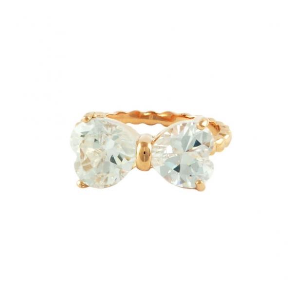 Kristallen Strikje Ring