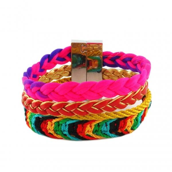 Neon Bracelet Set