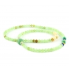 Natural Stone Layered Beaded Bracelet