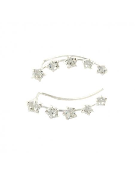 Kristallen Sterren Ear Pins