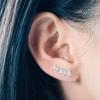 Crystal Arrow Ear Pins